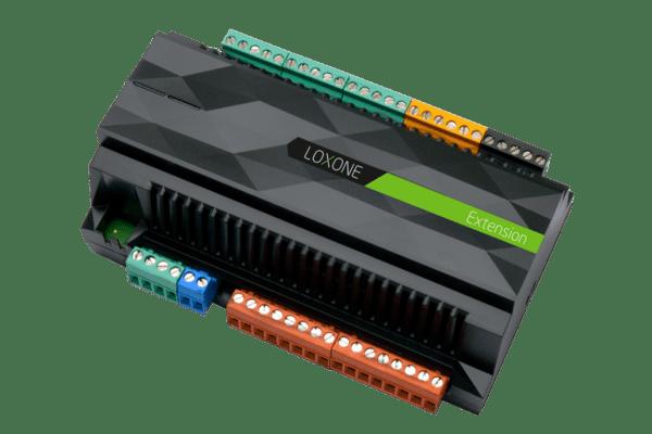 """Modul """"Extension"""" Mit der Loxone Extension können Sie Ihr Loxone System einfach um zusätzliche digitale und analoge Ein- und Ausgänge erweitern"""