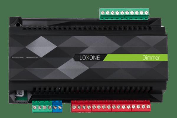 Produktfoto Loxone Dimmer Extension zum dimmen aller konventionellen Leuchtmittel, von der Glühbirne bis zur LED Lampe