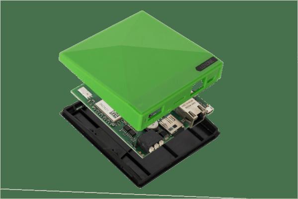Komponenten-Ansicht des Loxone Miniserver Go